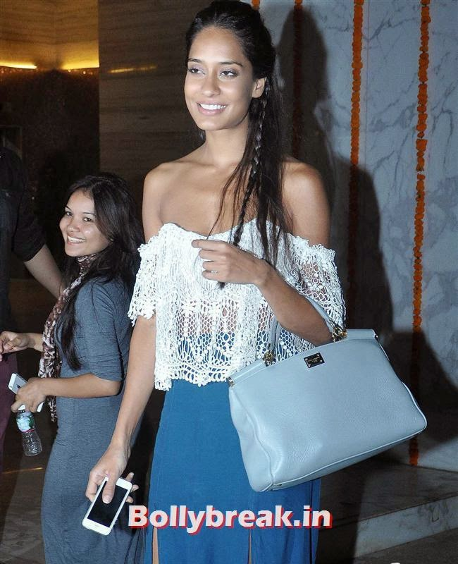 Lisa Haydon, Bollywood Celebs at Kangana Ranaut Birthday Bash Pics