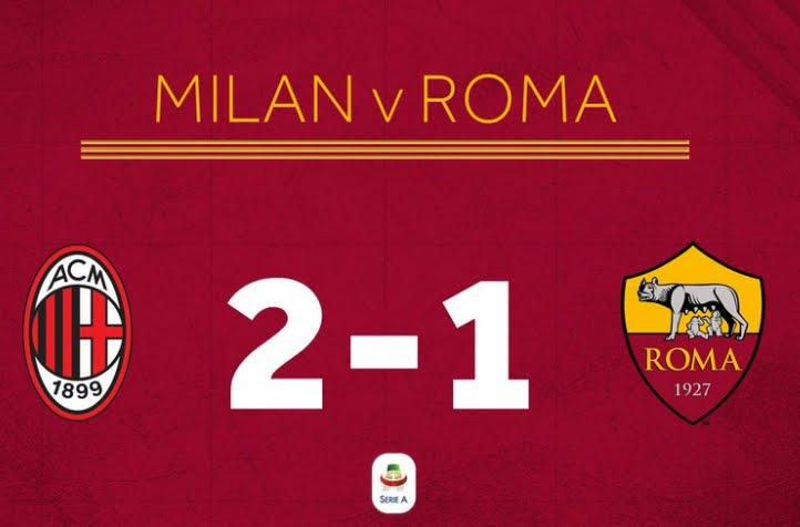 Crutone regala tre punti al Milan: 2-1 alla Roma con gol al 95' | Anticipo Serie A.