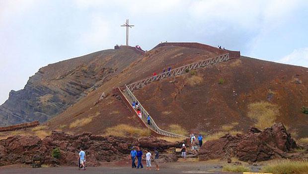 Traveling to Nicaragua at Masaya Volcano
