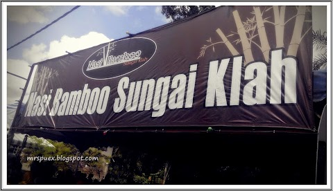 Food Review :: Nasi Bamboo Sungai Klah, Perak