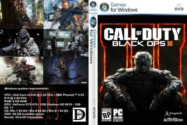 تحميل لعبة Call Of Duty Black Ops 3 برابط واحد مباشر