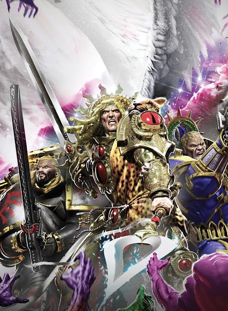 Lion El'Jonson, Sanguinius y Roboute Guilliman