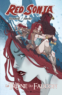 Red Sonja : le trône du faucon aux éditions Graph Zeppelin