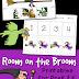 Room on the Broom Printables for PreK & K