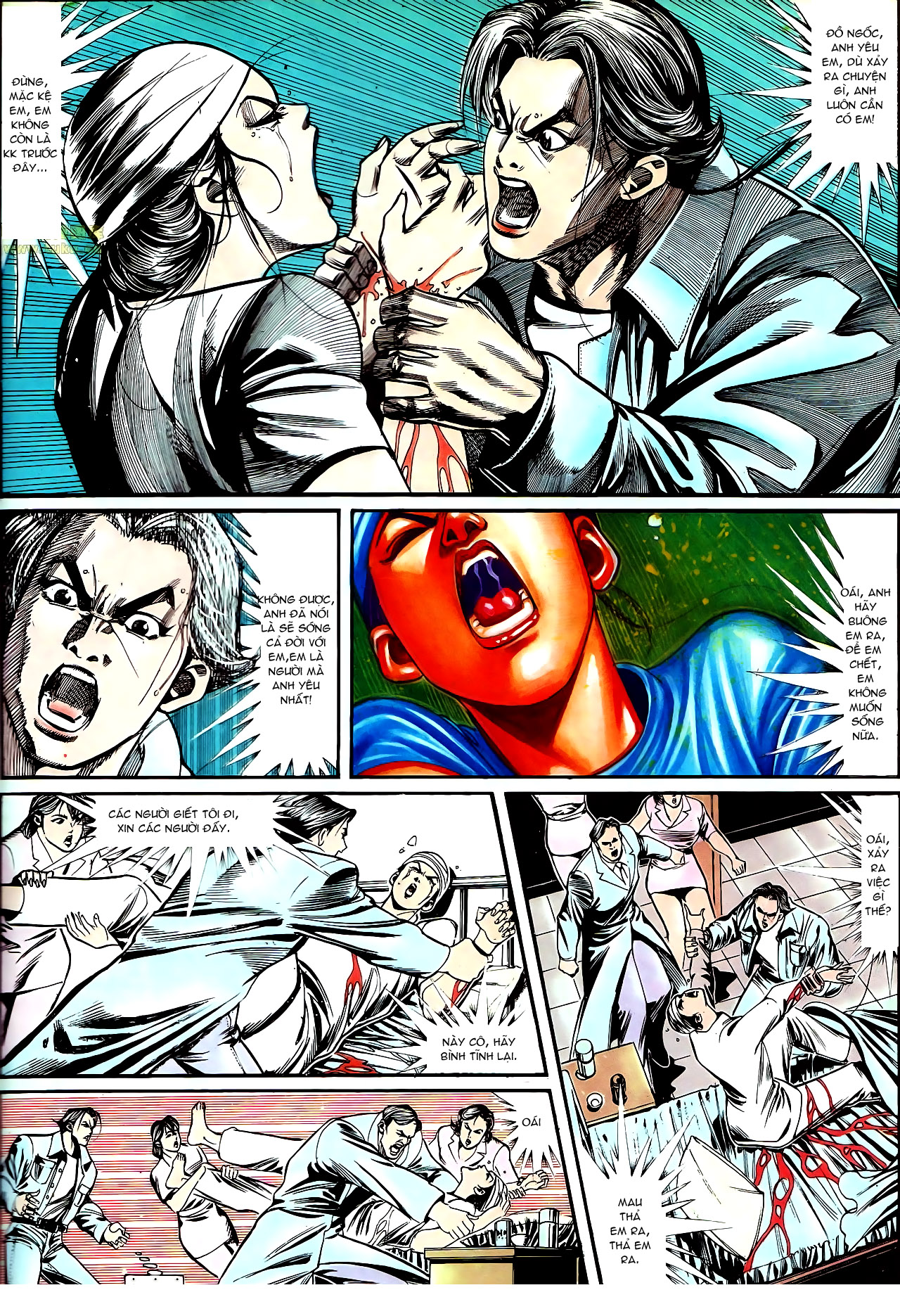 Người Trong Giang Hồ chapter 148: em đã gả cho anh trang 8