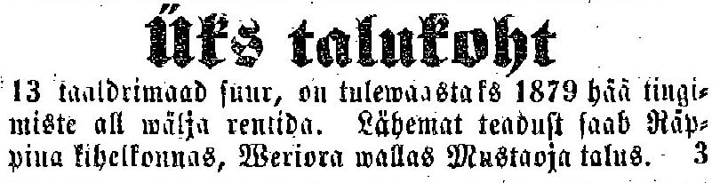 3779cbb2811 Eesti Postimees ehk Näddalaleht, nr. 35, lk 216 27. september 1878. Eesti  Postimees ehk Näddalaleht, nr.
