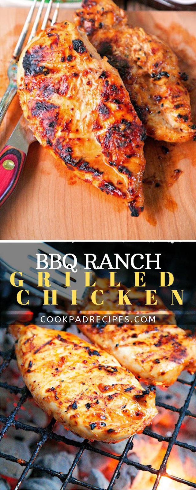 BBQ Rаnсh Grilled Chicken