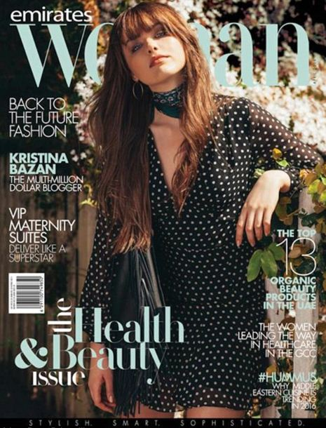 Kristina Bazan, 22 old model,from Sweden who is the initial million dollar blogger