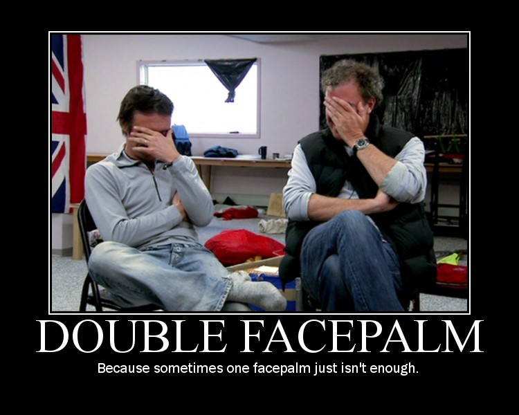 World Wildness Web: Double Facepalm