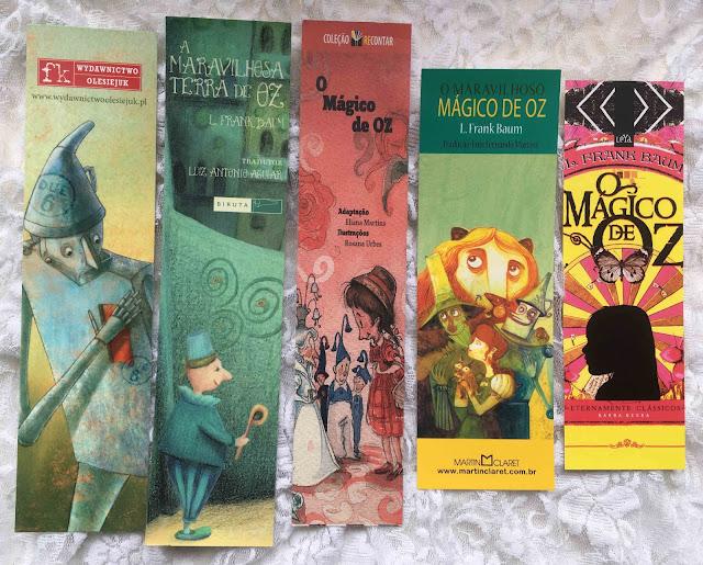 Marcadores de página Mágico de Oz