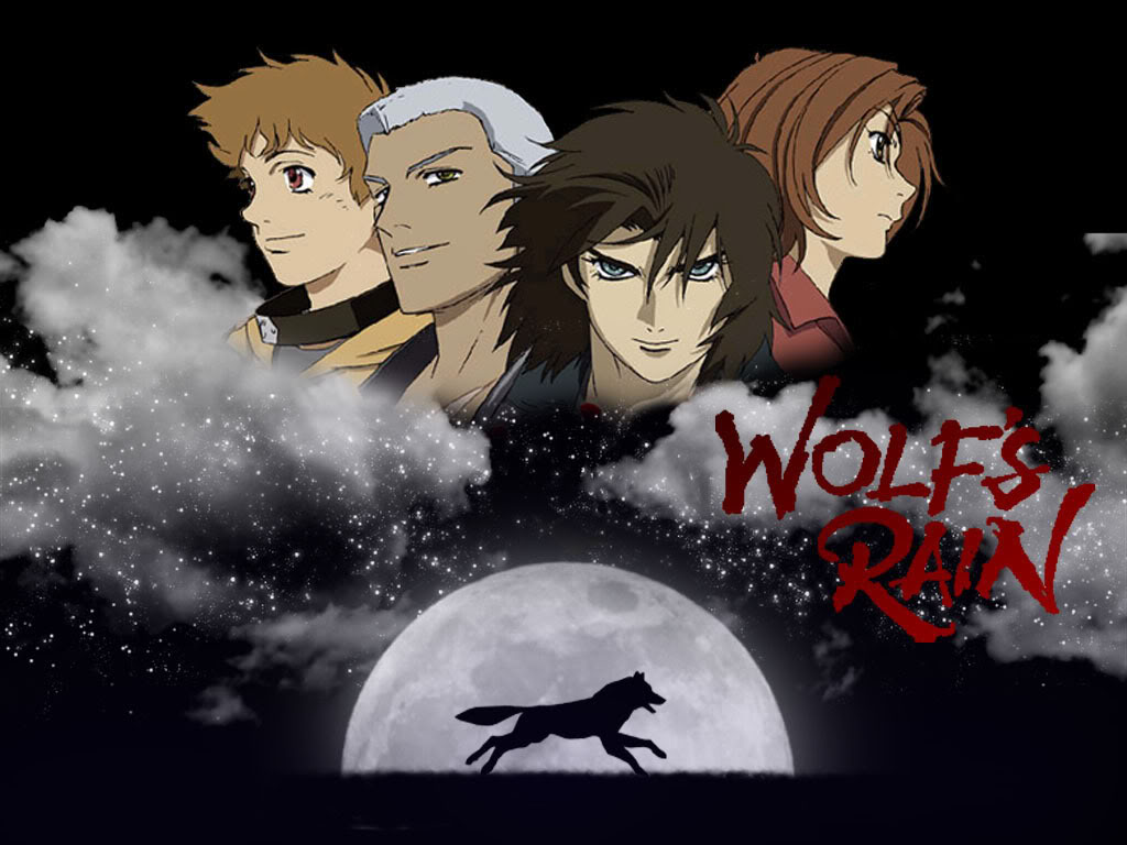 Wallpaper wolf wallpaper borders - Anime rain wallpaper ...