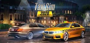 تحميل لعبة التاكسي Taxi Sim 2020 مهكرة كاملة للأندرويد