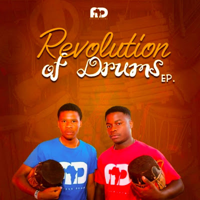 Afrikan Drums - Revolution Of Drums (EP /Afro House)
