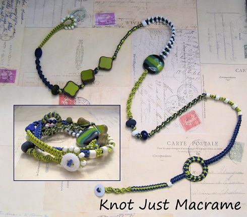 multi wrap macrame bracelet tutorial