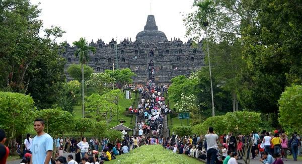 tempat wisata indonesia candi borobudur