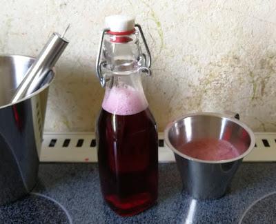 Zubereitung Jostabeer-Sirup