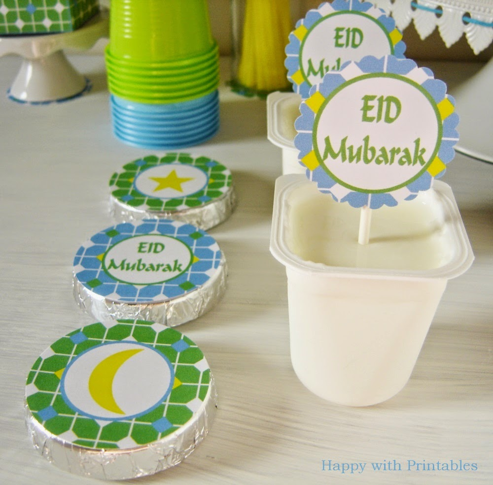 Eid Mubarak sweet table, eid, eid printables