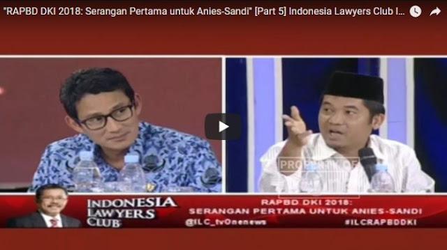 APBD Disoroti Publik, Dikit-dikit Salah AHOK, Komentar Ray Rangkuti Makjleb, 'Nonjok' Anies-Sandie....