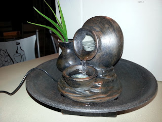 "8"" Pouring Pot Tabletop Fountain"