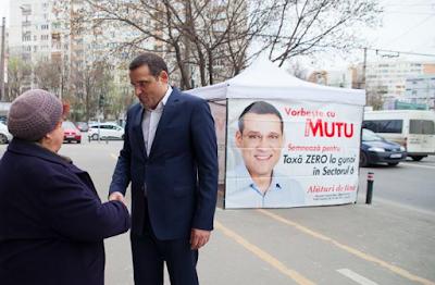 Gabriel Mutu, Románia, önkormányzati választások, választási ígéretek,