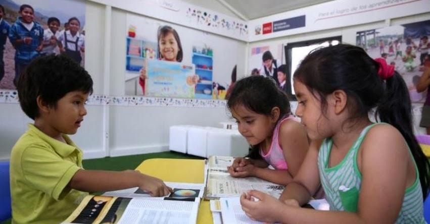 MINEDU presentará hoy materiales pedagógicos que serán distribuidos en todo el Perú - www.minedu.gob.pe