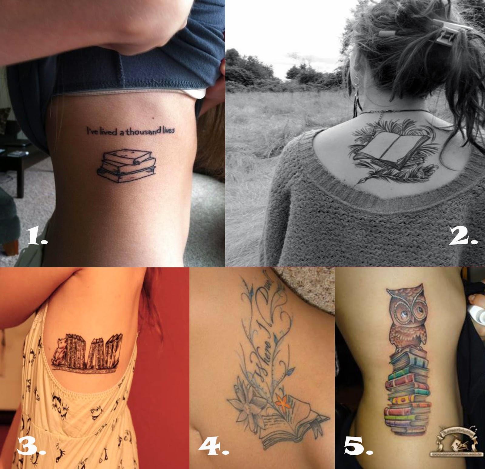 Zainfekowana Książka Miłość Do Książek A Tatuaż
