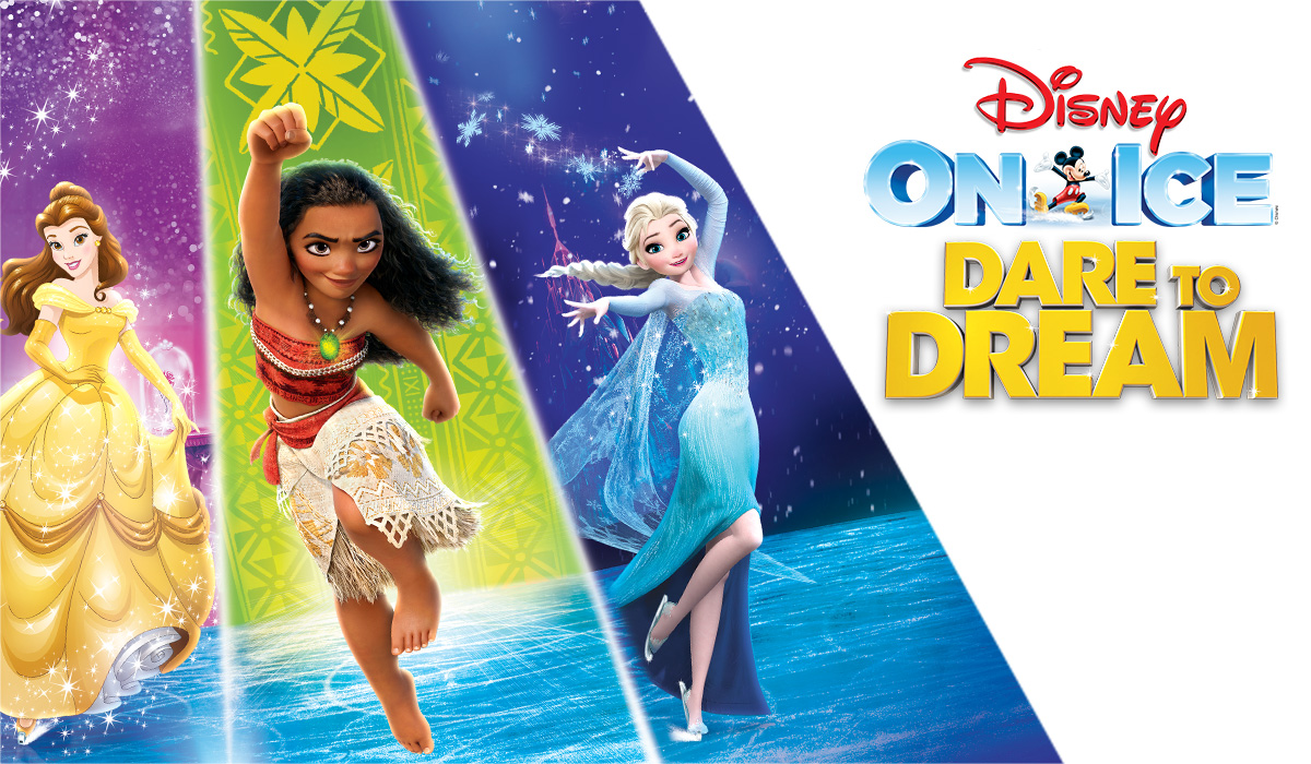 a74be19b6c3 WIN a Family 4 Pack of Tickets to Disney On Ice Dare To Dream Wed 1 24 at  Allstate Arena