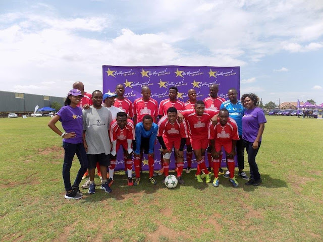 SAB Soccer Team - Hollywoodbets Charity Soccer Tournament