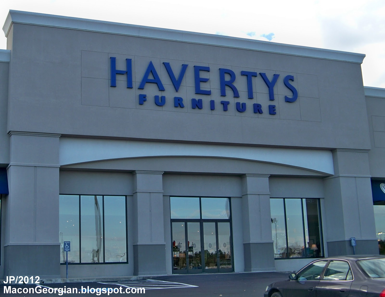 Havertys Furniture Macon Ga Eisenhower Parkway Showroom Bibb County Georgia
