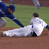 Cody Bellinger nearly loses pants sliding into third
