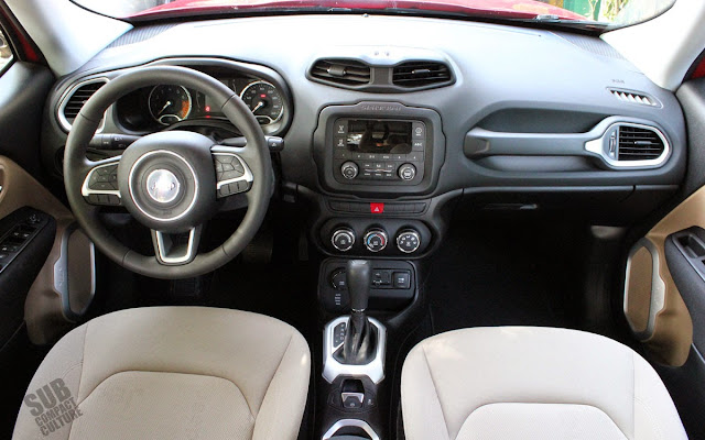 Jeep Renegade Sport Interior