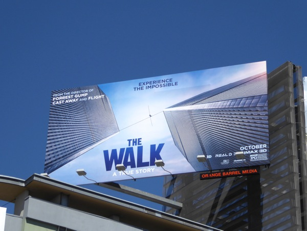 The Walk billboard