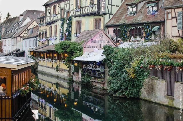 Colmar visitar Alsacia en Navidad