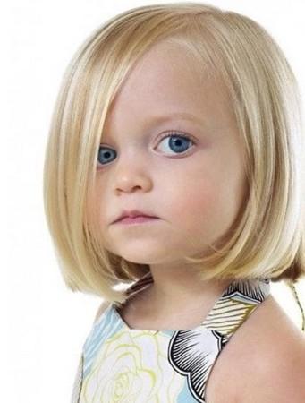 Model rambut bob anak perempuan