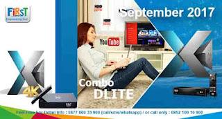 First Media Combo Dlite September 2017