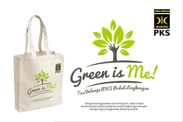 """Walikota Bogor Apresiasi PKS Launching Gerakan """"Green Is Me"""""""