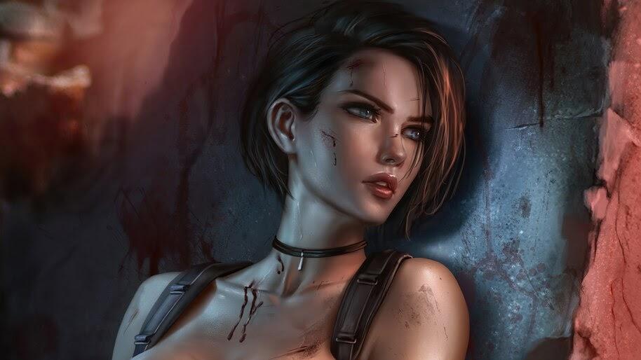 Jill Valentine, Resident Evil 3 Remake, 4K, #3.1566