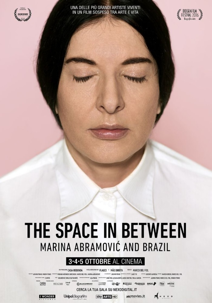 The Space in Between: Marina Abramovic and Brazil - Documental