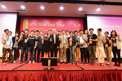 2016 NTU Startup Day登場,展現跨領域、從生活找靈感的創新與創意