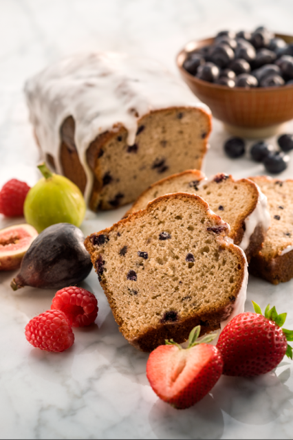 Blueberry loaf by chef Zipora #recipe #MothersDay