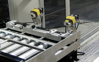 Barcode Scanners on a Robotic Palletizer Case Infeed