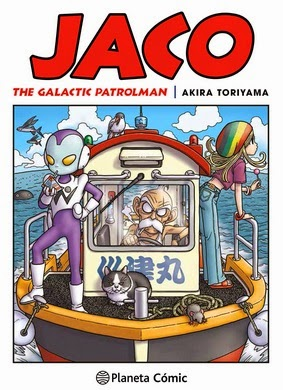 Portada Jaco, The Galactic Patrolman