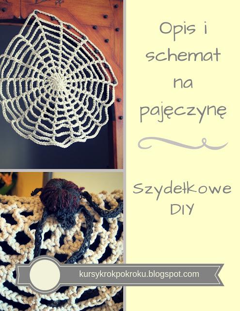 Jak zrobić pajęczynę na szydełku? - krok po kroku