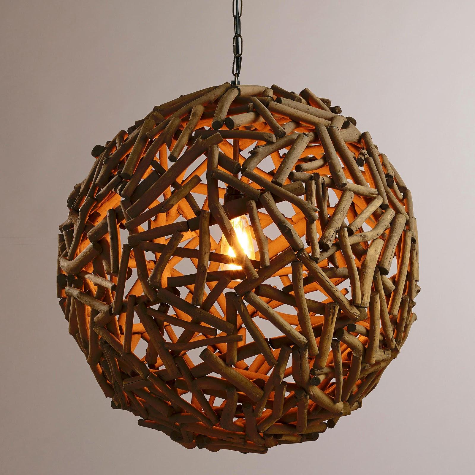 Restoration Hardware Lighting Orb: {Jessica Stout Design}: World Market Vs. Restoration