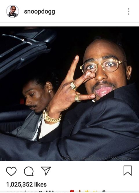 2PAC Shakur captured in his neighborhood with snoopdog