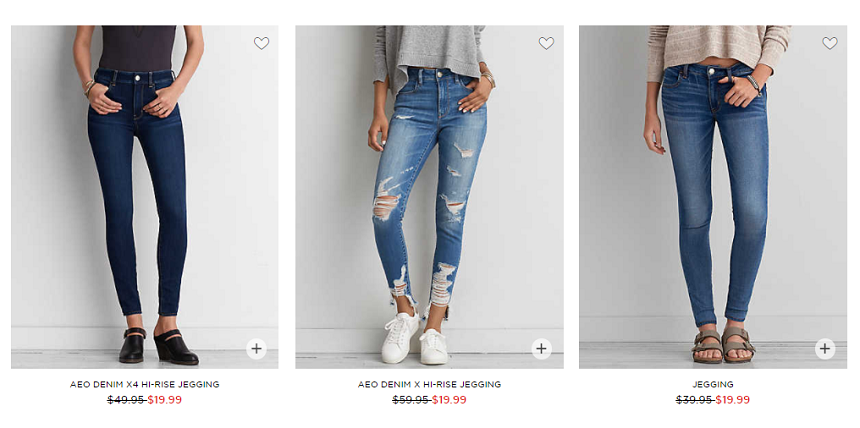 American Eagle: $20 Jeans and 60% off Clearance!