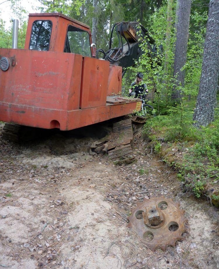 Milla grävmaskinist