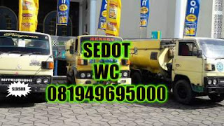 Sedot WC Komplek Kenjeran Surabaya Utara