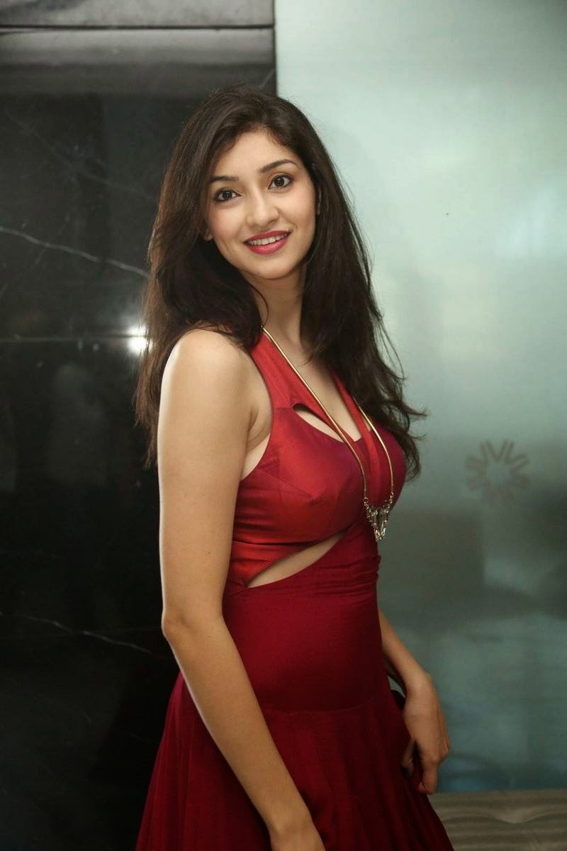 Actress Tanvi Vyas Images, Tanvi Vyas Red Hot Dress Sexy Pics