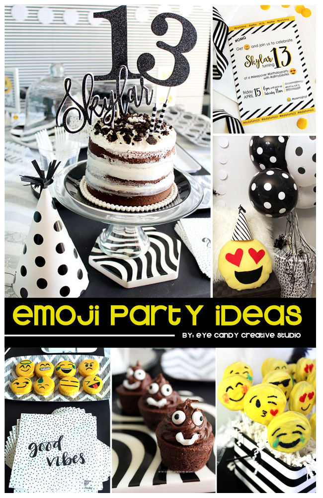 emoji party ideas, emoji birthday party, emoji party, emoji birthday theme